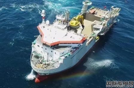 进出口银行支持6000吨抛石船首制船交付