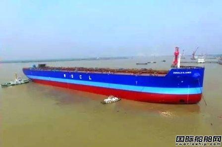 韩通船舶重工两天完成三大节点