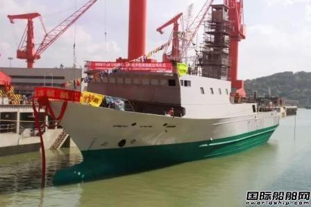 马尾造船三船同日出坞