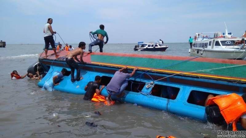 印尼客船倾覆已致8人死