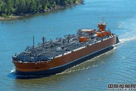 美国首艘液体无水氨驳船入级ABS