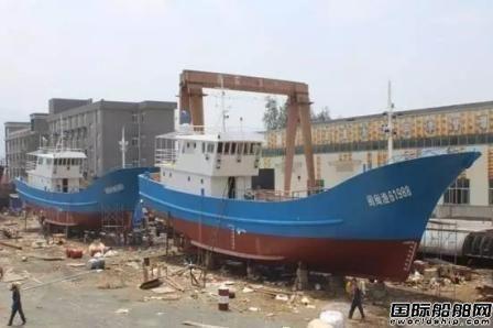信昌造船交付2艘灯光围网渔船