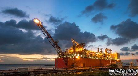 惠生海工交付全球首艘FLNG