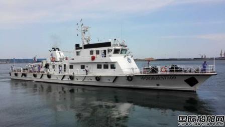 """七O一所武船院设计的""""中国渔政37309""""交船"""