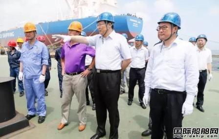 胡问鸣到大船集团专项检查重点型号工程