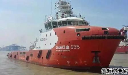 上船院6500HP油田守护船完美收官