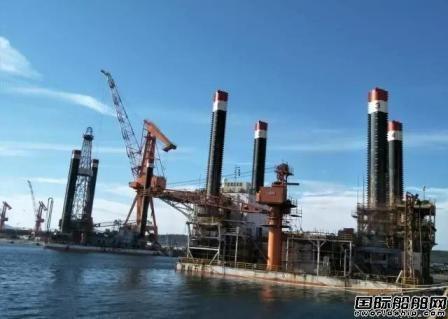 大船船务首次承接修理钻井平台项目