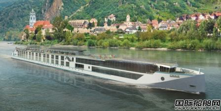 MV Werften交付全球最豪华内河邮船