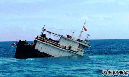 """""""DUC CUONG 06""""轮北部湾沉没10人获救"""