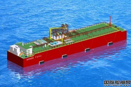惠生海工大型FSRU设计获船级社AIP认证