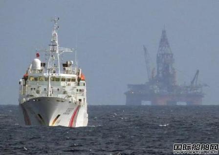 越南钻井船停留南海一个月后离开