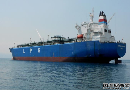 VLGC价值受液化气船市场低迷影响