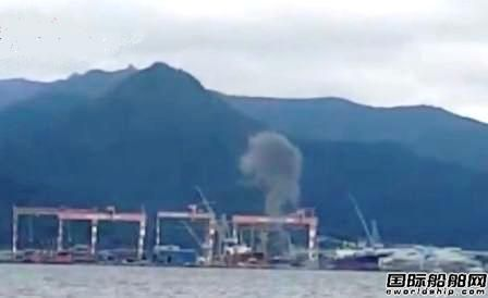 STX造船在建船爆炸原因曝光!