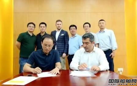 广新海工交付国内首制自升自航式服务平台