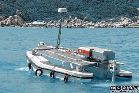 华南理工大学研发波浪推进无人艇成功海试