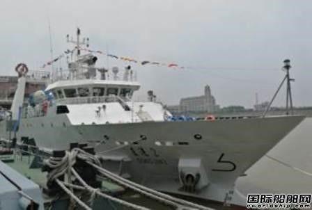 """浙江造船交付""""东进2""""号渔业资源调查船"""
