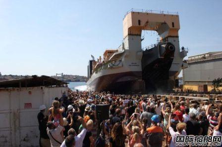 Jan De Nul下水全球最强绞吸式挖泥船
