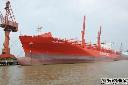 扬子江船业交付首制3800TEU集装箱船