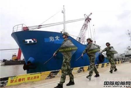 因船名汉字贴反外籍走私船被查