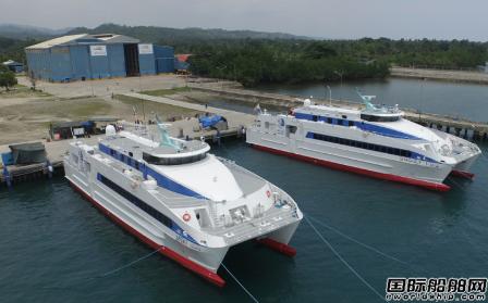 Austal接获2+1艘高速双体船订单