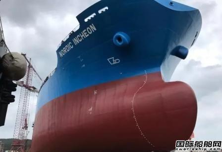 威海三进船业撤单船失而复得