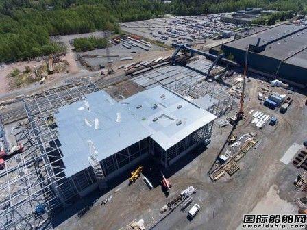 Meyer Turku增资扩大船厂设施满足订单需求