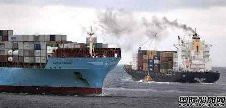2016年集装箱船温室气体排放强度同比下降