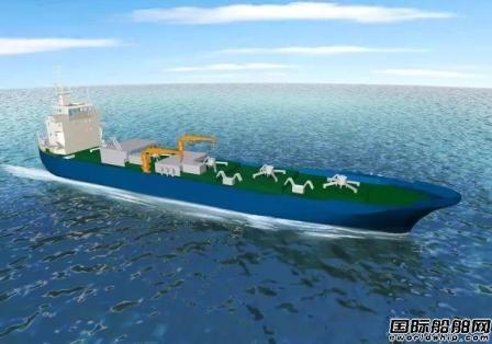 上海中远船务获3艘大型水泥自卸船改装订单