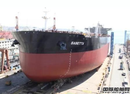 大船集团交付一艘11万吨成品油船
