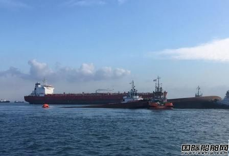 新加坡海域一船倾覆4名中国船员失踪