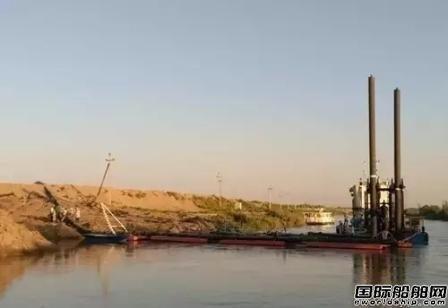 东港船舶援乌第8船套挖泥船顺利交付