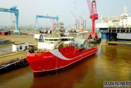 启东中远海工N697项目完成发电机动车节点