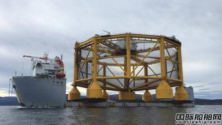 """武船建造""""海洋渔场1号""""在挪威卸货"""