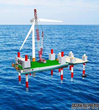 日本企业将联手订造2艘风电场安装船