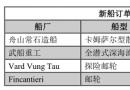 新船订单跟踪(9.11―9.17)