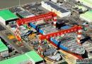 将造2万箱船!今治造船新船坞完工
