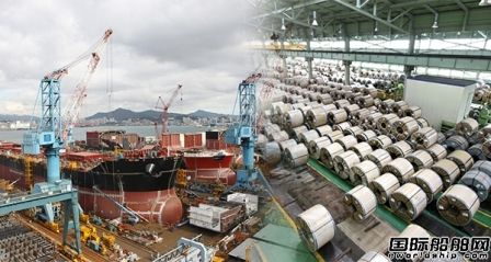 韩国船企呼吁钢厂降低钢板价格