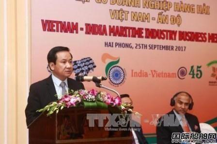 越南与印度加强造船业合作