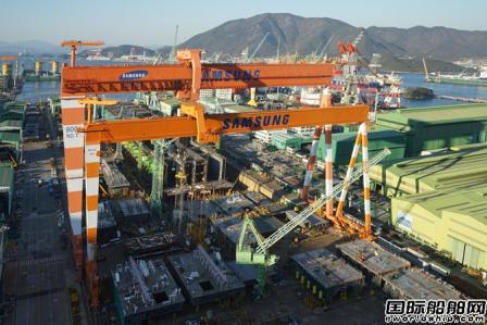 三星重工获6艘22000TEU集装箱船订单