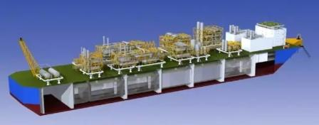 LNG-FPSO总体设计关键技术研究项目通过验收