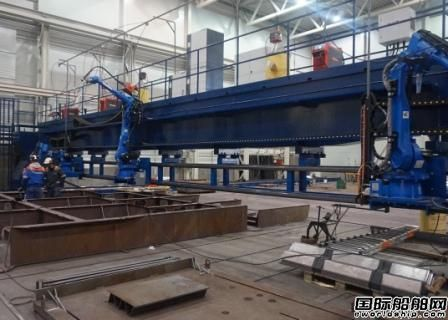 Kleven造船集团获融资加快实施机器人造船