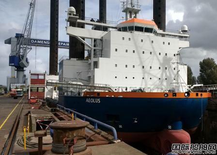 Van Oord风场船安装全球最大起重机