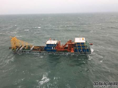 """""""新利11""""轮福建海域进水下沉5名船员全部获救"""