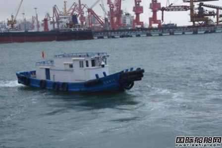 国内首艘智能水尺观测船在连云港口岸启用