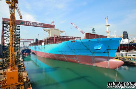 现代重工获4艘14000TEU集装箱船订单