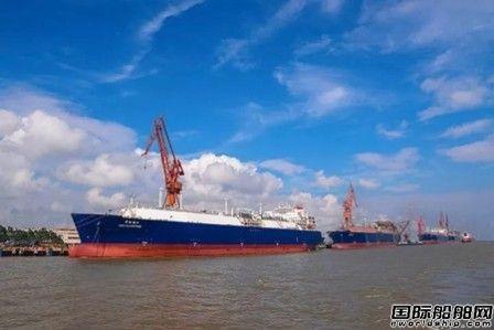 """沪东中华APLNG5号船常规海试即将""""结业"""""""