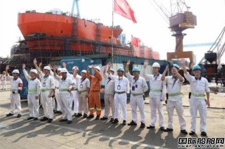 """广东中远船务""""海洋地质十号""""出海试航"""