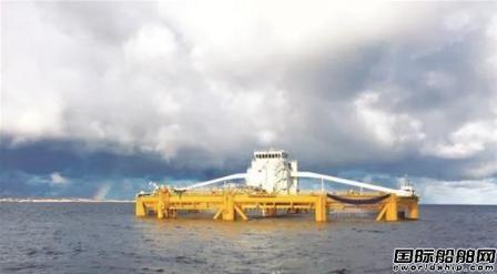 武船造世界首座深海渔场在挪威交付