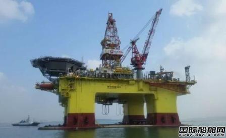 大船海工A5000型深水半潜式钻井平台完成海试