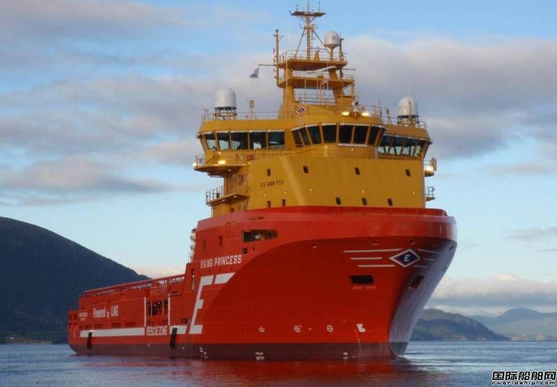 史上首艘利用混合储能技术发电海工船